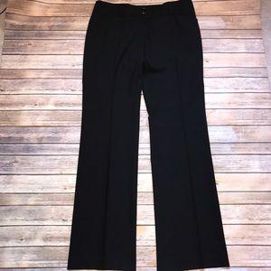Burberry Black Wool Blend Pants Trousers